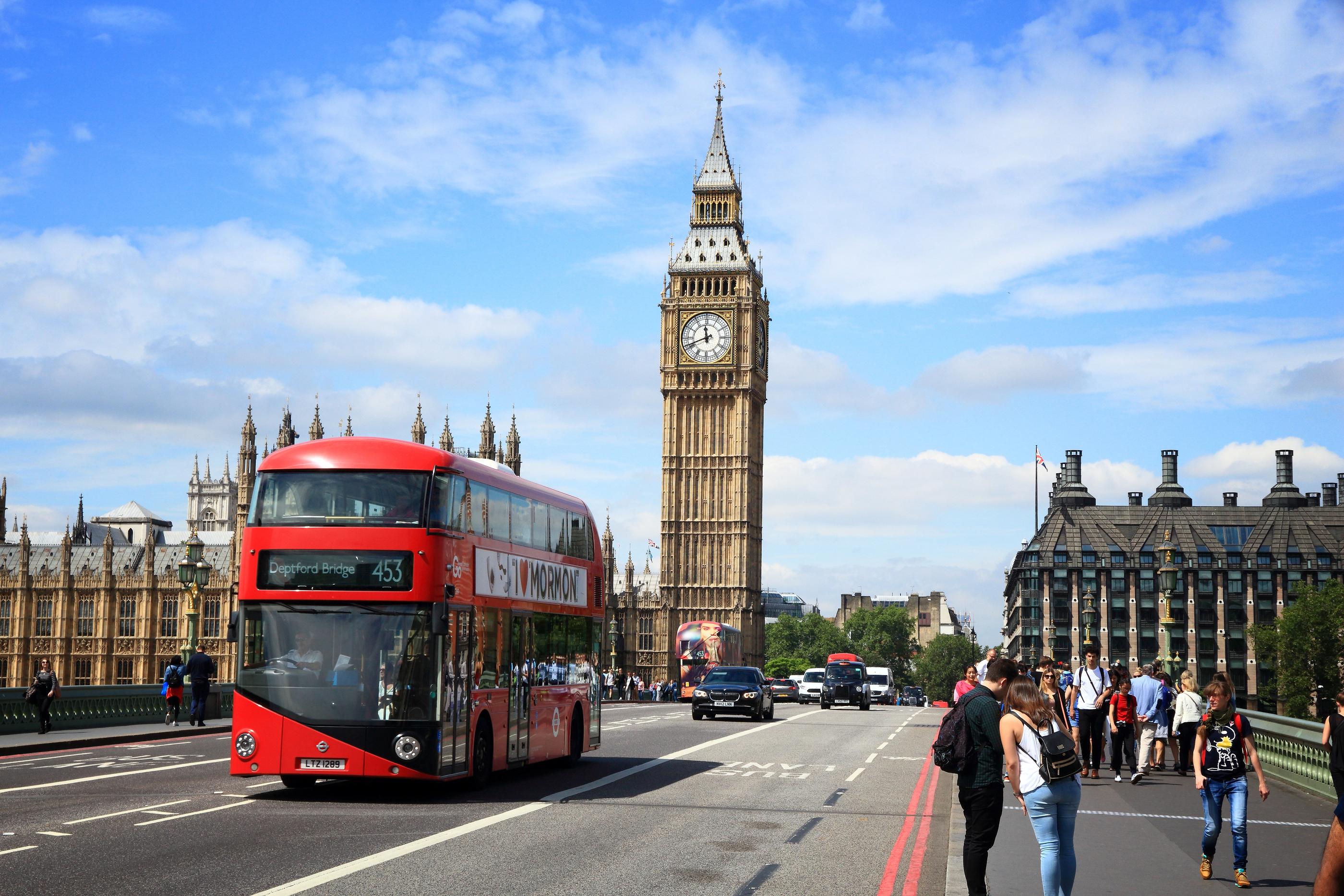 flyrejser london billund