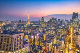 Billige flybilletter til Tokyo