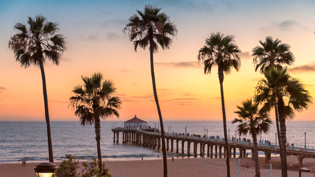 Billige flybilletter til Los Angeles