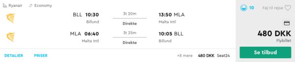 Sommerferie på Malta