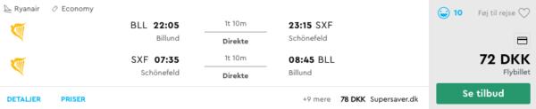 Billige flybilletter til Berlin