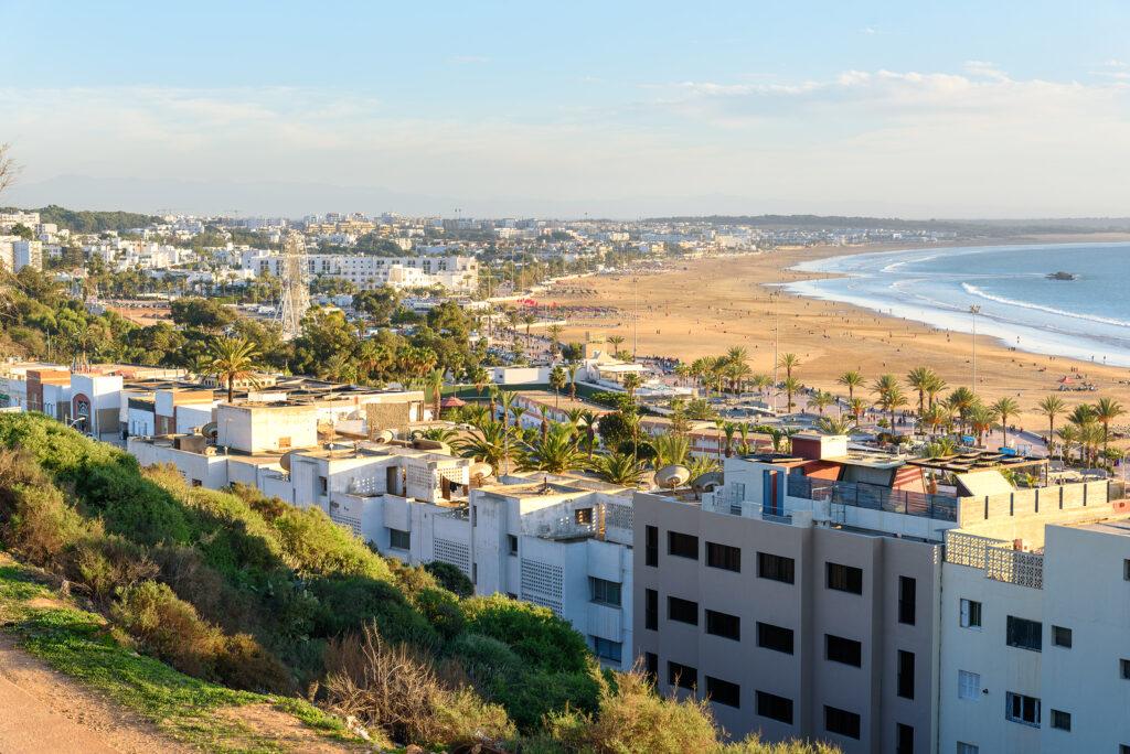 Badeferie i Agadir