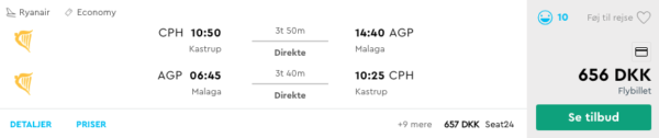 Sommerferie på Costa Del Sol