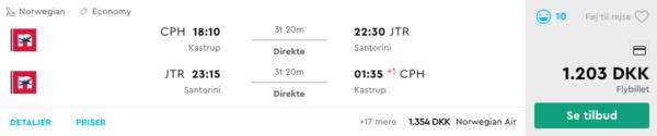 Sommerferie på Santorini