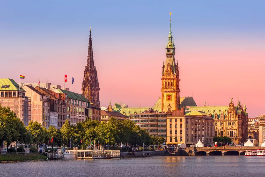 Storbyferie i Hamborg