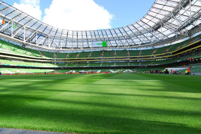 Landskamp i Dublin