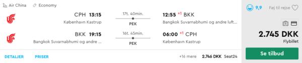 Billige flybilletter til Thailand