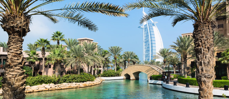 Solrige Dubai: 7 dage på 4* hotel inkl. fly for kun 3062 kr.