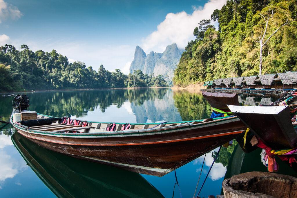Jungle og strand i Thailand